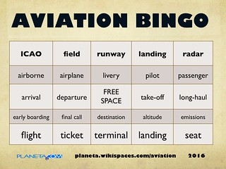 Aviation Bingo (2016)