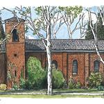 newman chapel, davis