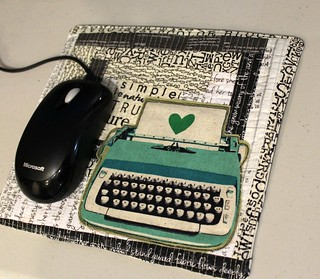 Quilted Mousepad | by aquilterstable