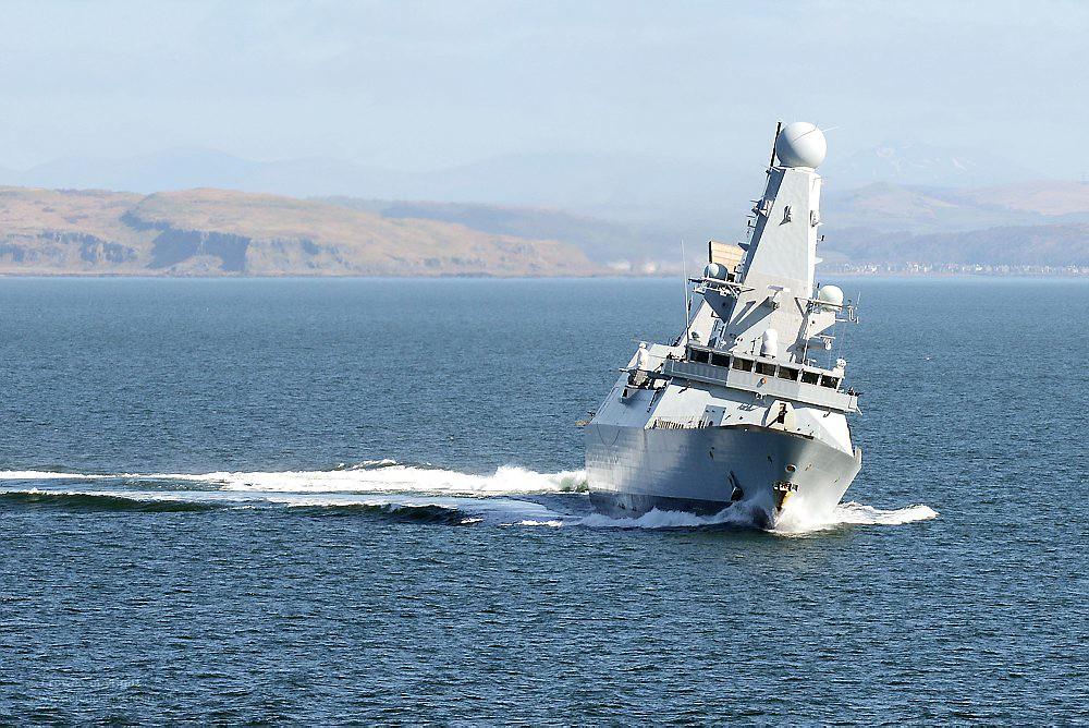 Hms Diamond Royal Navy Type 45 Destroyer Hms Diamond Is