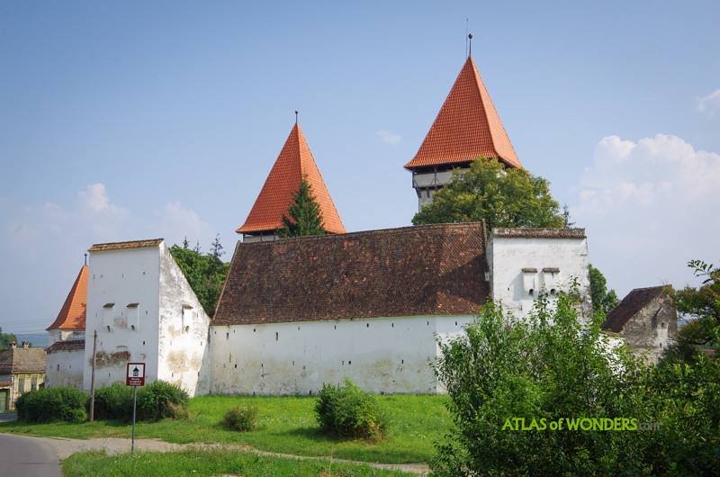 Iglesias fortificadas de Rumania