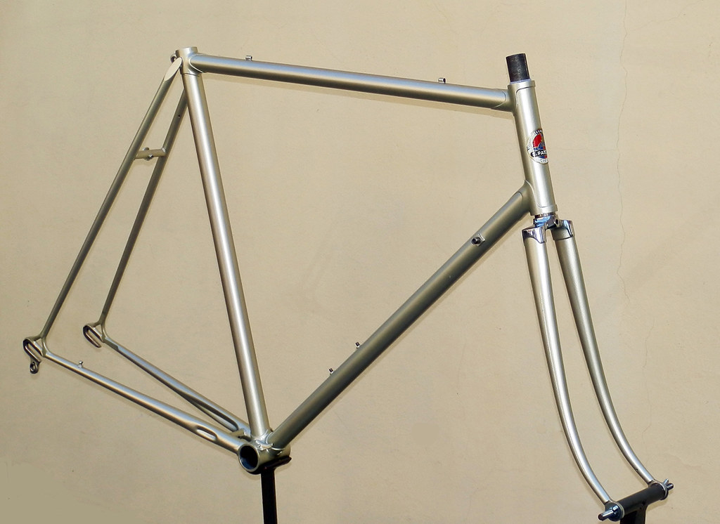 S.PATELLI 70s frame | repainted | paracorto | Flickr