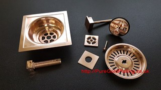 Rose Gold Bathroom Shower Parts | by PureGoldPlating