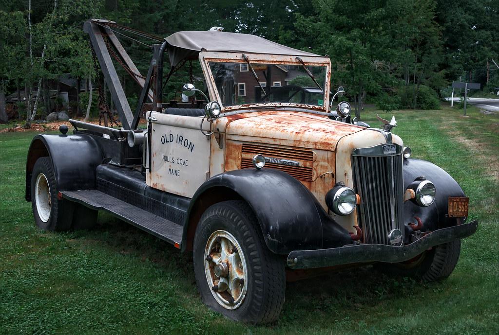1940 39 S White Motor Company Truck Wa2x Bar Harbor Maine