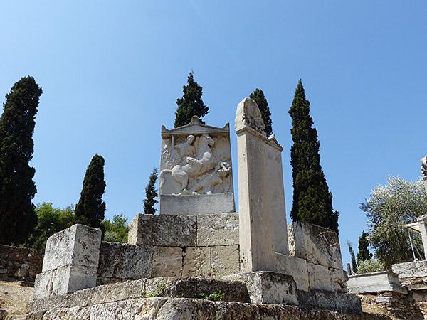 le cimetière du céramique 14
