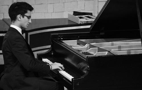 """RECITAL PARA OPTAR AL PREMIO EXTRAORDINARIO DE ENSEÑANZAS PROFESIONALES DE MÚSICA DE CASTILLA Y LEÓN - DANIEL PACHO VILLACORTA, PIANO - AUDITORIO """"ÁNGEL BARJA"""" 30.09.16"""