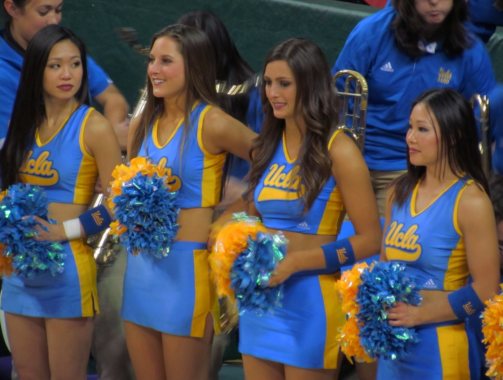 ucla bruins cheerleaders mike flickr