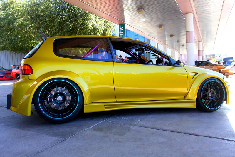 ... 92 95 Custom Honda Civic Hatchback 17 | By RNR