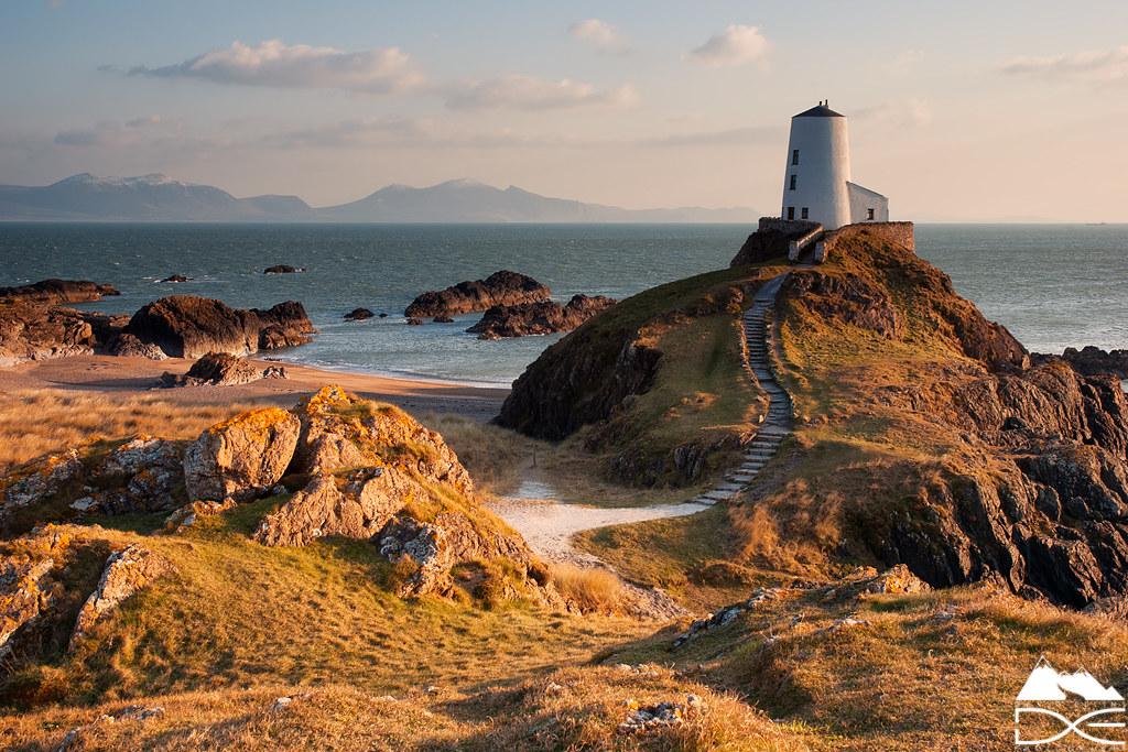 Ynys Llanddwyn Anglesey North Wales Sunset Lighting