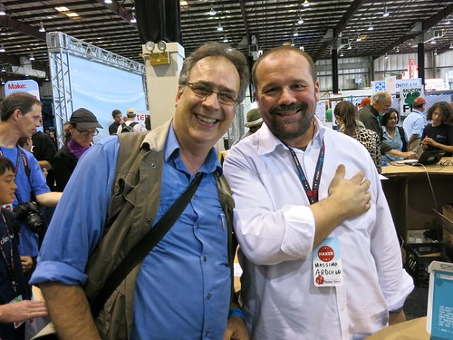 Massimo Banzi and Fabrice Florin at Maker Faire | by fabola