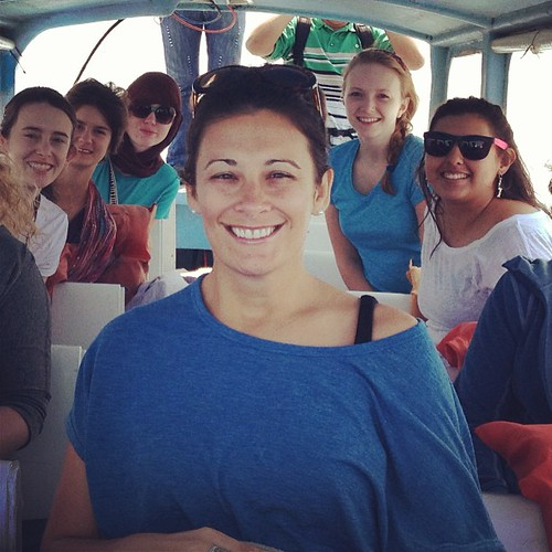 Kelly Campbell and the lovely young ladies from Winthrop U I traveled with in Guatemala. | by kels00