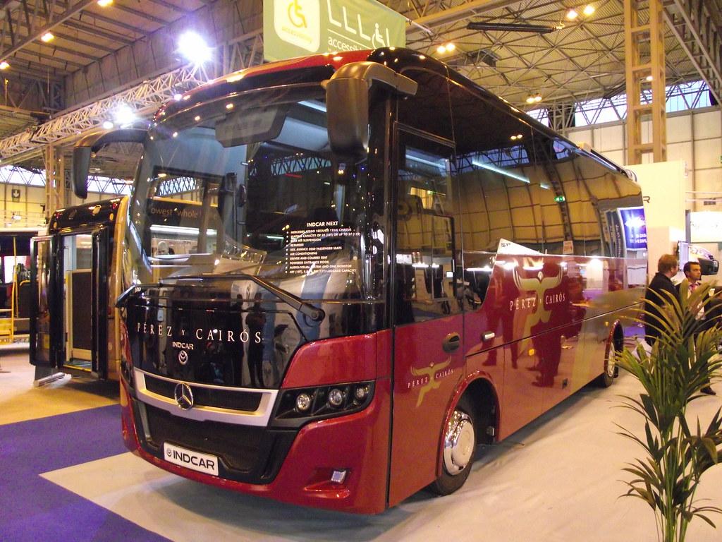 Indcar Next (Mercedes-Benz Atego) Euro Bus Expo 05-11-2014 ...