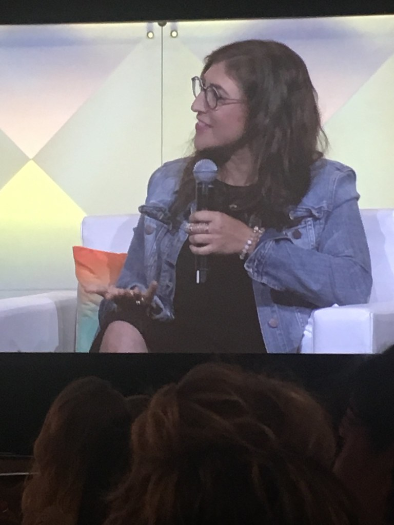 Mayim Bialik at BlogHer