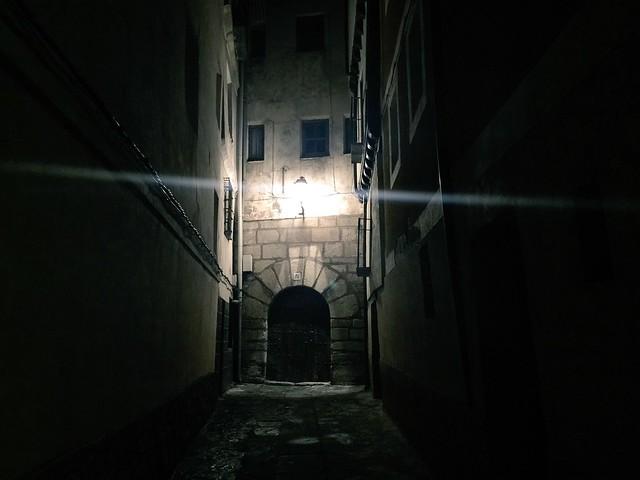 Molina de Aragón por la noche
