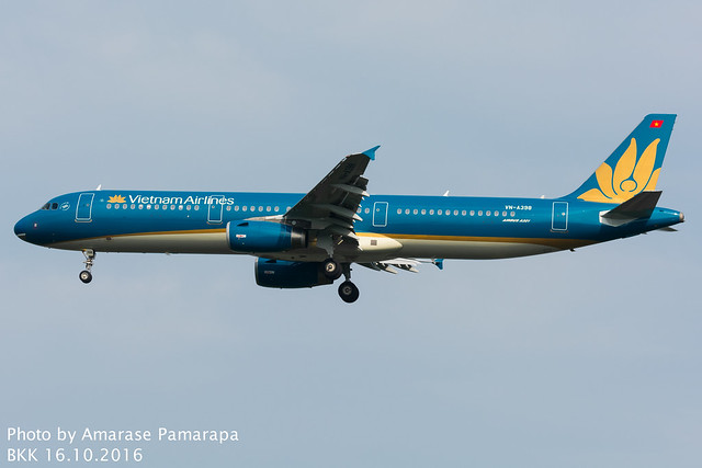 VN-A398 // Vietnam Airlines Airbus A321-231