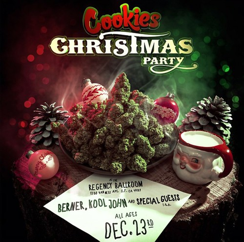Goldenvoice Presents BERNER, KOOL JOHN: COOKIES CHRISTMAS PARTY ...