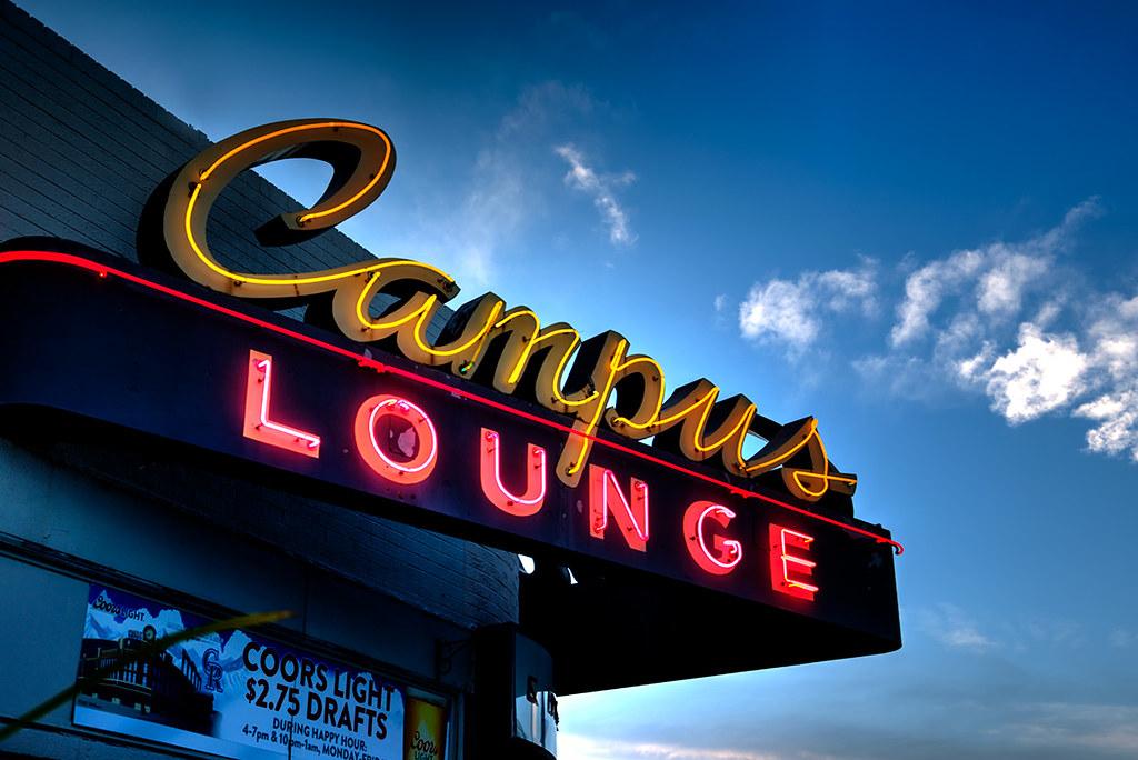 Campus Lounge, Bonnie Brae, Denver