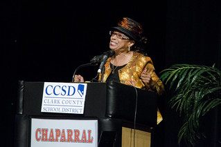 Trustee Young at 2016 CCSD Graduation Rate Presentation | by Trustee Dr. Linda E. Young - District C