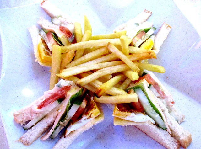 SCR Sg Merah sandwich and French fries 2