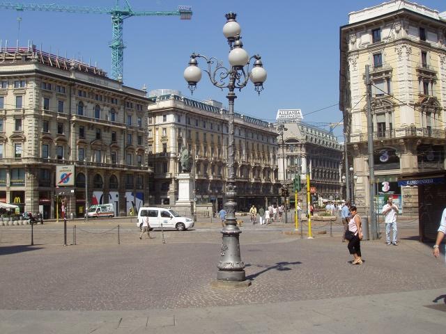 Via Dante de Milán