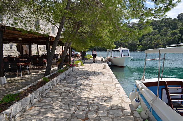 Island cafe, Croatia