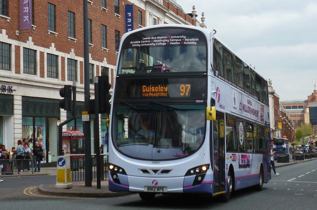 BN12WPE First Leeds Volvo B9TL 36243 | First Leeds route 97 … | Flickr