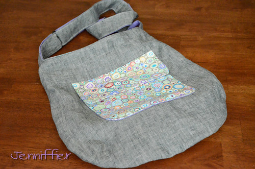 Finished sidekick tote | by Jenniffier