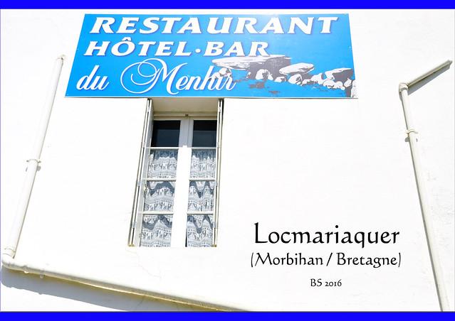 Bretagne-Urlaub 2016 - Locmariaquer - Megalithkultur - Menhir - Dolmen - Foto: Brigitte Stolle 2016