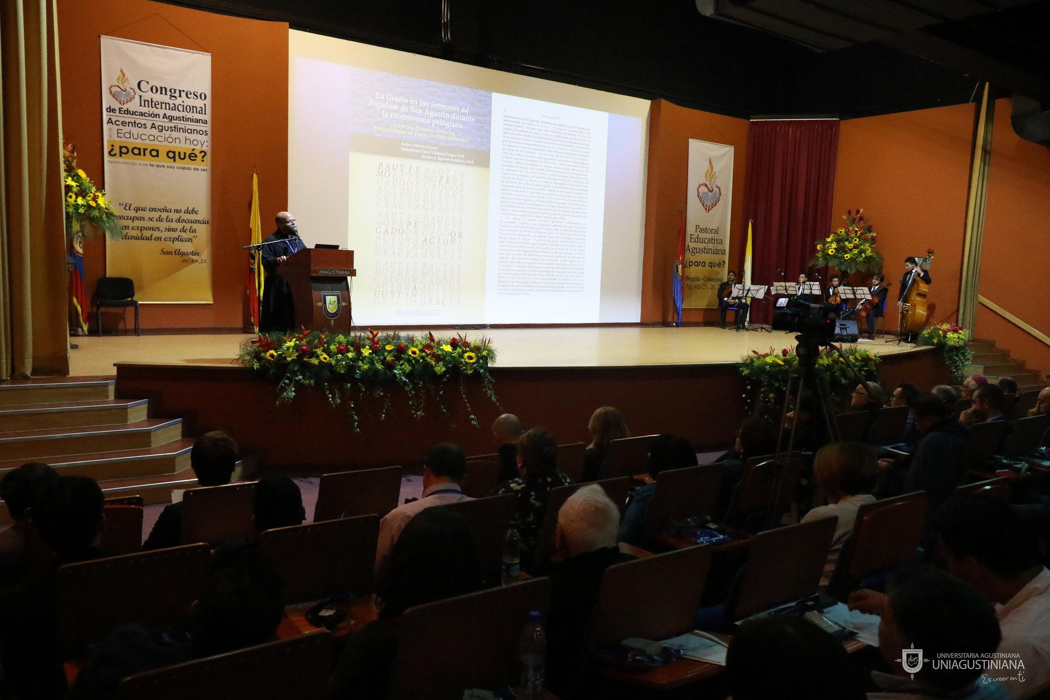 Primer día: Congreso Internacional de Educación Agustiniana