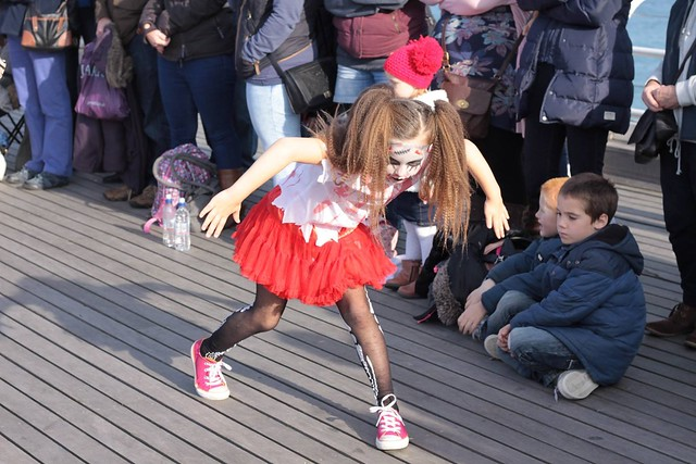 Cromer Pier Halloween Performance 2015