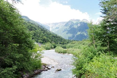 Azusa-gawa river 梓川 Kamikochi 2016 summer 48