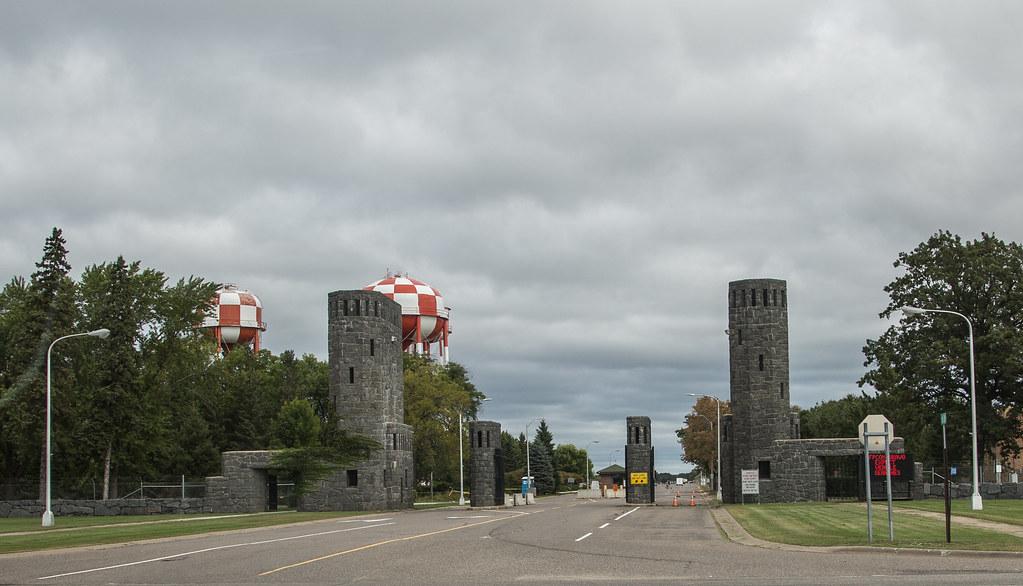 Minnesota >> Camp Ripley - Minnesota National Guard | The main gate at Ca… | Flickr