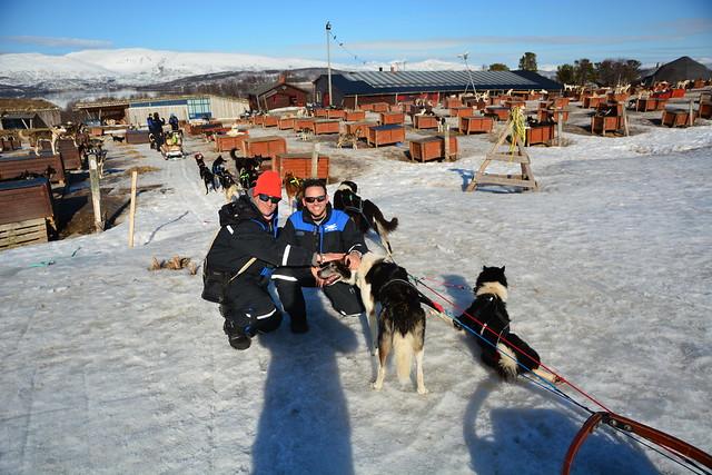 Sele y Chavetas en Laponia Noruega