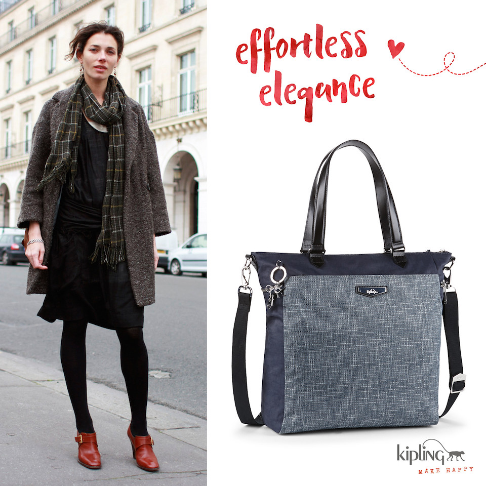 kipling Luxestagious Woven Haven