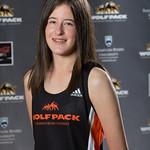 Sarah Manhard, WolfPack Cross Country Running