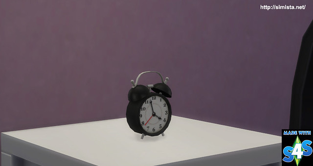 Tick Tock Clock Simista A Little Sims 4 Blog