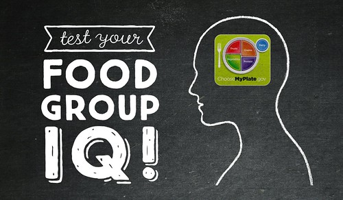Test Your Food Group IQ graphic