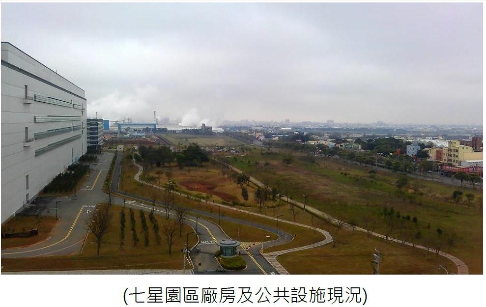 七星園區廠房及公共設施現況 資料來源:環境影響評估報告書