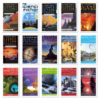 The Years' Best Science Fiction, Volumes 14 - 28 - Various Authors, Edited by Gardner Dozios