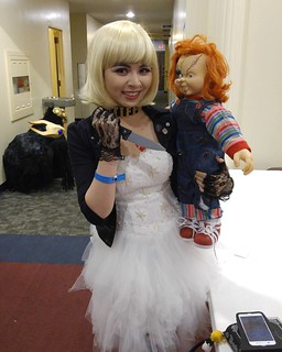 @owen_miyabi Bride of Chucky #sinistercreaturecon | by Always Wrong Film