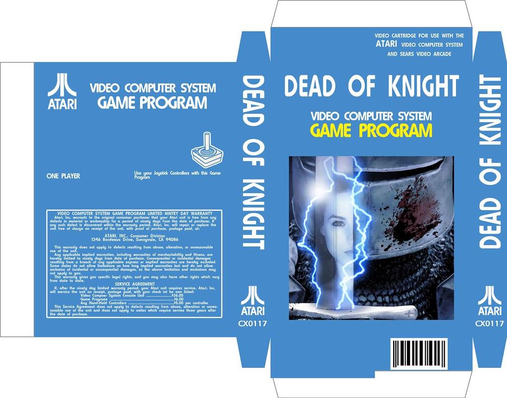 Dok Atari Box Template Sample Export Joe Grisaffi Flickr