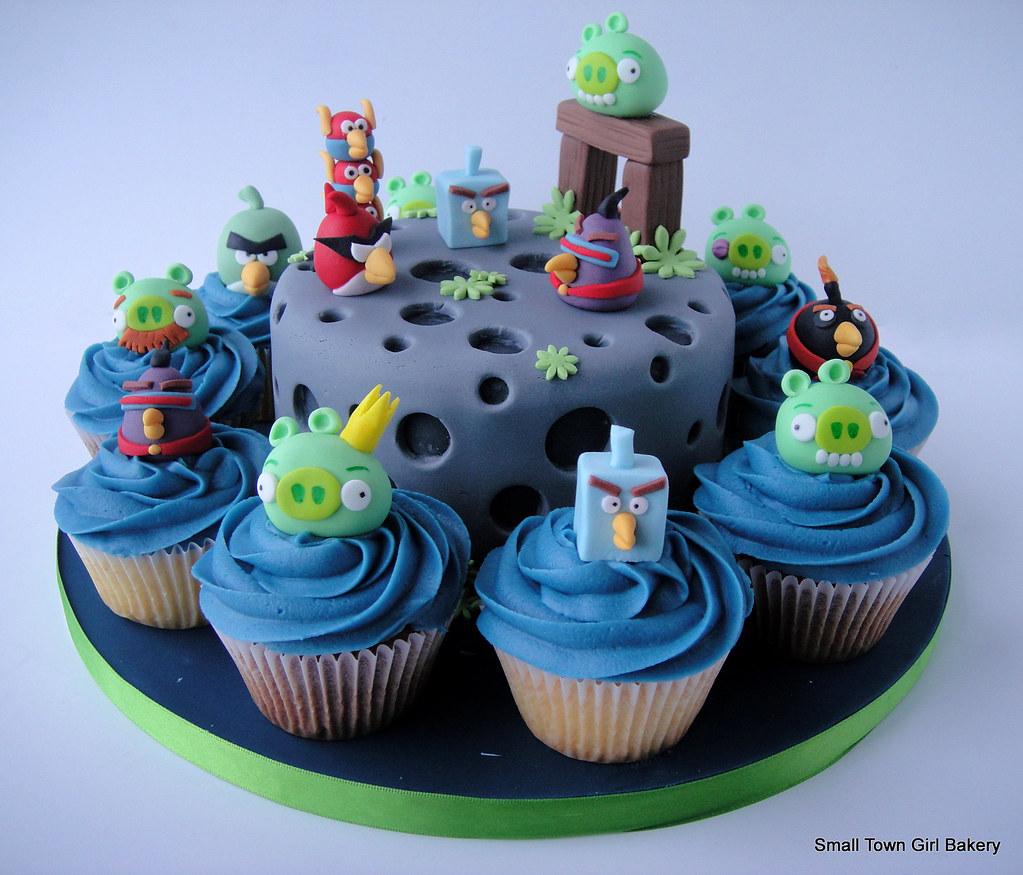 Angry Birds Birthday Cake Pan