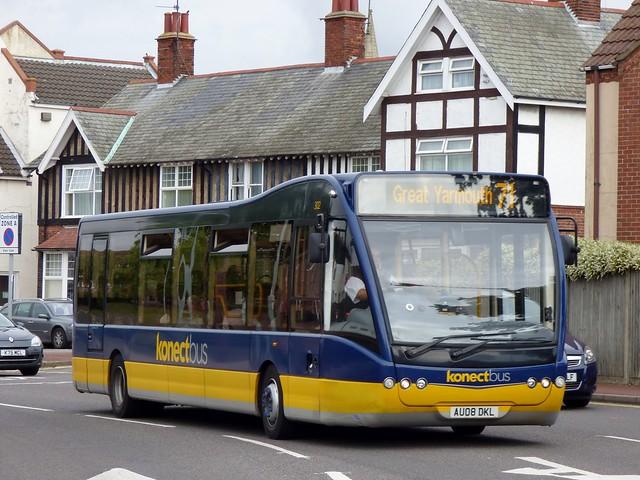 Bus Routes Konectbus 71 Flickr