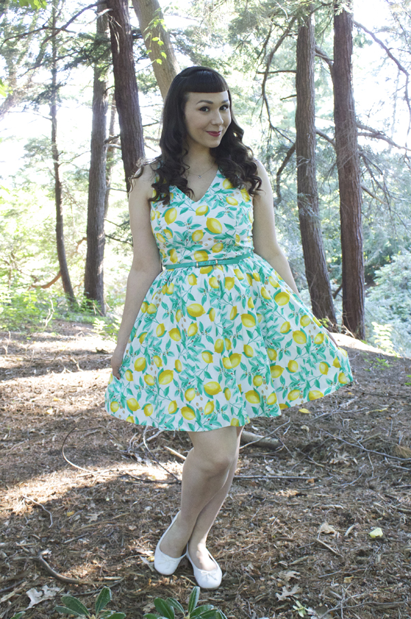 kohl's lemon dress