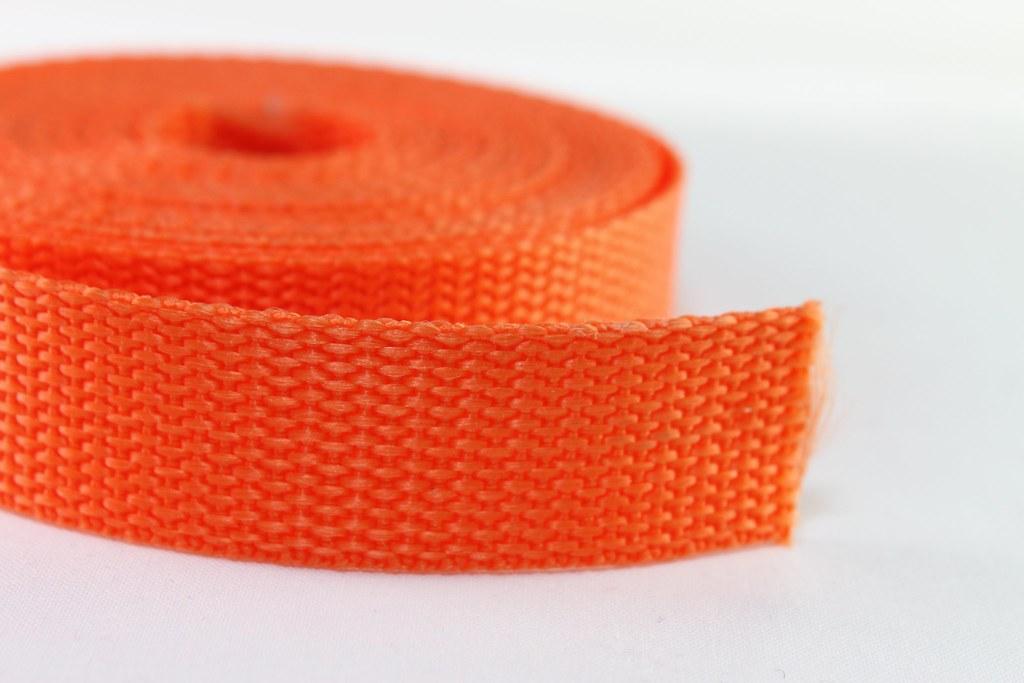 Gurtband 20mm orange