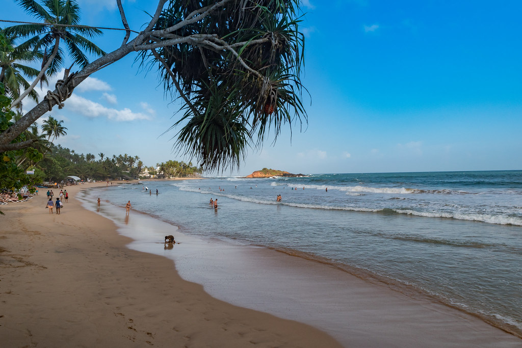 Image result for Mirissa Beach in Sri Lanka