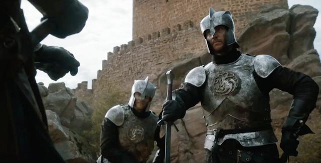 Escena de Juego de Tronos en el castillo de Zafra (Guadalajara)