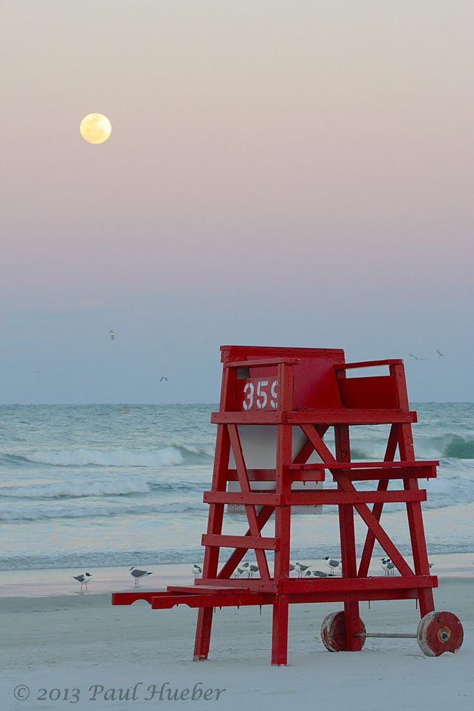 Lifeguard chair and mo...