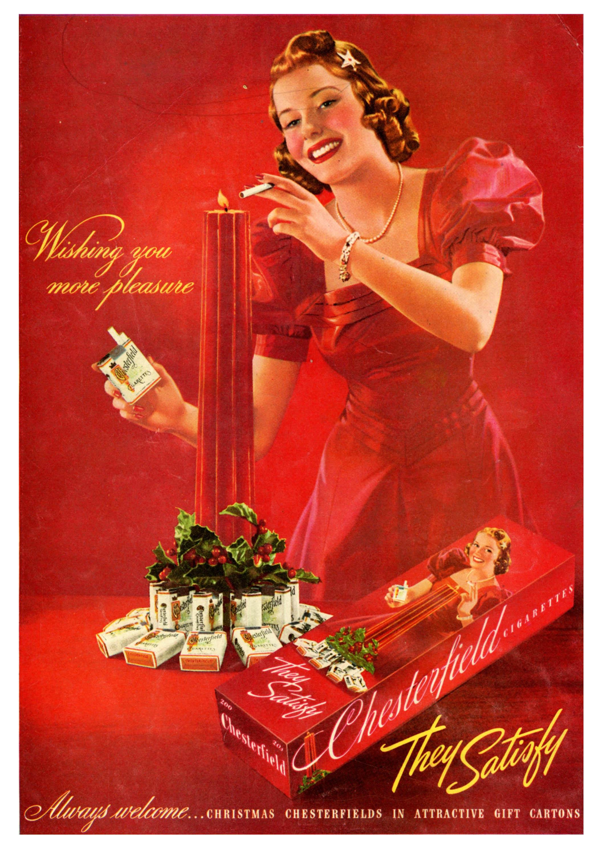 Chesterfield Cigarettes - 1939