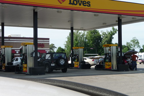 Gassing up | by Fancy Horse